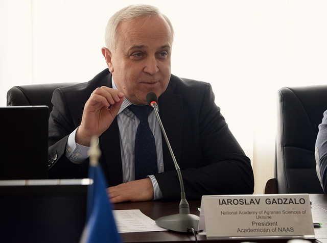Президент академії НААН Ярослав Гадзало